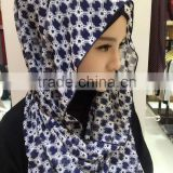 women shawl hijab new designs plain chiffon sacrves hijab