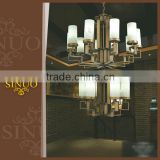 Made in china hotel chandelier glass decoration pieces