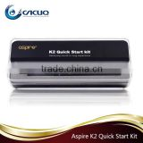 new products 2016 vape pen aspire k2 quick starter kit aspire k2/ k3/ k4 start kit bulk buy from china