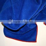 Wholesale 60*90cm 300gsm Blue Soft Terry Microfiber Hair Drying Turban Wrap Towel