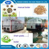 Wood Pellet Burning Stove Steam Boiler