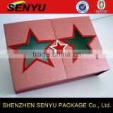 Star Shaped Child Gift Box for Christmas Packaging Box