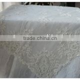 luxury wedding beaded table overlays machine embroidery sequins table cover