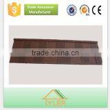 alu-zinc steel color stone chip coated metal roofing tiles