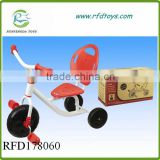 2015 New fashion design plastic bike for sale kids tricycle