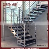 prefabricated apartment building casting stairs railing and carpet stair nosing