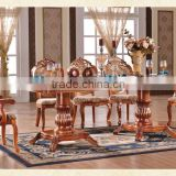 Dining Room Furniture Extensible Table Chairs Set                                                                         Quality Choice