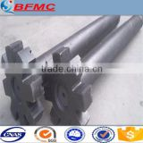 CE aluminum high purity graphite rotor and shaft for degassing