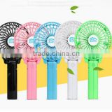 2016 alibaba china Office Desk table hand held mini fan Air cooler with rechargeable battery