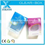 PVC Nail Polish cosmetic gift display packaging boxes with window                                                                         Quality Choice
