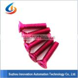 Hot sales color anodized aluminum screws ITS-081                                                                         Quality Choice