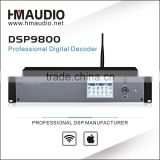 with 4 ins 1 out HDMI and coaxial and optical digital input Karaoke Speaker Processor DSP9800