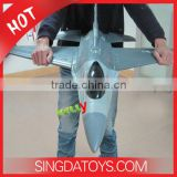 Wholesale 2.4Ghz 4 Channel Remote Control Duct Fan Jet Toy Plane F16