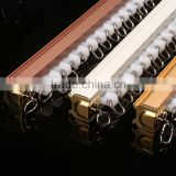 New fashion flexible curtain track gliders plastic finial