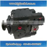 China factory direct sales long working life hydraulic piston pump for harvester field
