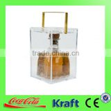coca cola social audited factory custom logo plastic ice bucket