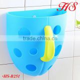 PP plastic baby bath toy storage organizer bath toy holder