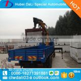 9 ton 4x2 brick and log loading palfinger crane