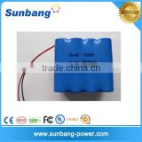 8 Cells Li ion Battery Pack 2S 18650 Batteries Pack 7.4v 8800mah 14.4v 2600mah golf buggy li-ion battery pack