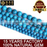 hot Gemstone beads wholesale natural turquoise beads semi-finished multicolored crystal DIY handmade beaded jewelry