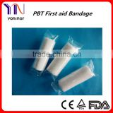 CE FDA ISO Surgical Non-adherent PBT Elastic Bandage