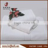 China Factory Supply 100% Cotton white Hotel Bath Towel Set                                                                                         Most Popular