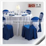 Hot Selling Wholesale Satin Ruffle Chair Covers and Tablecloth for Wedding