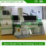 Jinan Hanshi HS1325X new advanced cnc equipment engraving Alumium , copper and pvc for small business at home