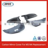 2014 FULL REPLACEMENT CARBON FIBER MIRROR COVERS FOR BMW F80 F82 F83 M3 M4