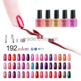 2016 Mixcoco soak off gel lacquer, Multicolor gel lacquer for nail ,High Quality uv gel nail lacquer