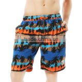 sublimation printed beach shorts board shorts for men polyester swimwear & underwear good price on sale