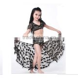 Wuchieal Belly Dance Costumes for kids with Panty in 4 colors                                                                         Quality Choice