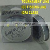 Nylon Tournament Fishing Line 0.10-0.37mm 50M