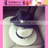 2016 Europe popular ladies handmade sun hats alibaba high quality cheaper wholesale hat straw