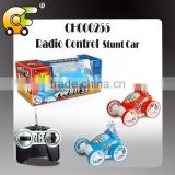 Full function Radio control stunt cars with light toys car for kid 2 colors red & blue