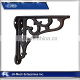 Morden decorative cast iron shelf bracket