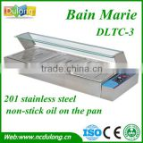 CE approved stainless steel bain marie/restaurant equipment