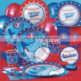 Sports Party Supplies ,Boys Themed Partyware Birthday Party Kit, Party Favors, and Decorations.