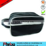 Classical black beauty cosmetic case with handle(COS15-003)