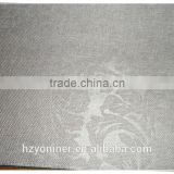 2015 hot sale linen like curtain 007 fabric and designed window fabric; made up curatin in hotel or home