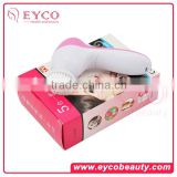 Skin Care Electric Vibrating Facial Brush/Face Massager 5 in 1 With Color Box/electric cleaning brush