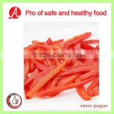Frozen Sliced Red Bell Pepper from China
