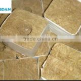 "Cheap Price China Made Density 80kg/m3 Rock Wool Agriculture Cubes 8""X8""X8"" with Hole"