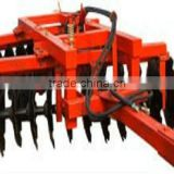Disc harrow with reasonable structure ,strong ablility to rake ,durable ,easy to use and maintain