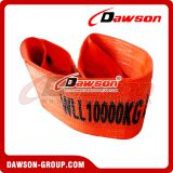 10 Ton Polyester Webbing Slings webbing strap lifing sling