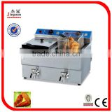 Counter Top Electric 2-Tank Fryer (2-Basket)