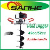 HOT!!!4900/5200 double handle Earth Auger for planting