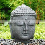 Customized size granite stone buddha water fountain