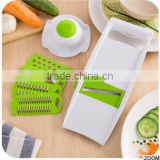 6 in 1 Fruit Multi Vegetable Mandoline Slicer 6 Adjustable Stainless Steel Blades kitchen grater cutter