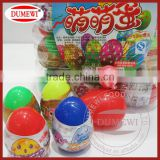 8 grams Plastic Egg Toy wtih Lollipop